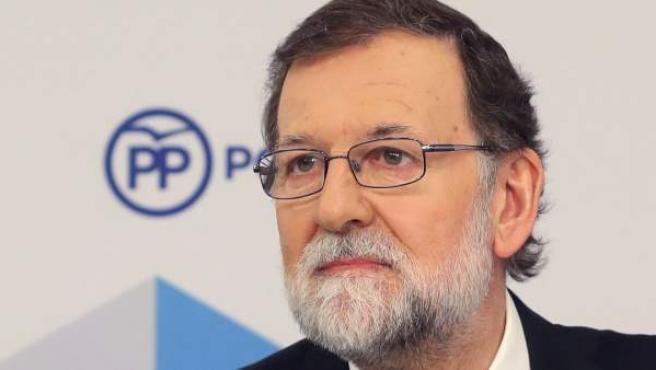 """Mariano Rajoy pone """"punto final"""" a su carrera."""