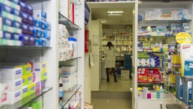 Foto de archivo de una farmacia.