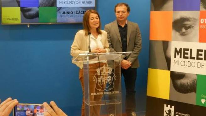 Melendi arranca su nueva gira en Cáceres con un concierto en el recinto hípico e