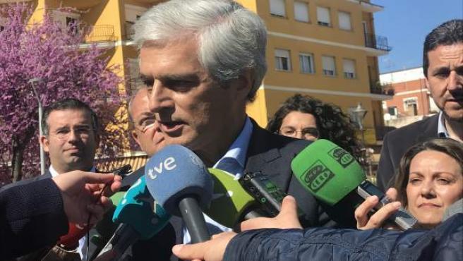 Suárez Illana destaca que se siente 'honrado' de ser parte del PP, un partido qu