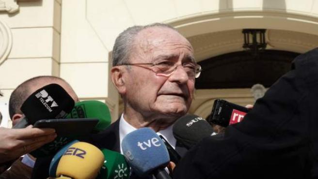 Málaga.- De la Torre: 'El símbolo de la no corrupción es el Gobierno municipal d