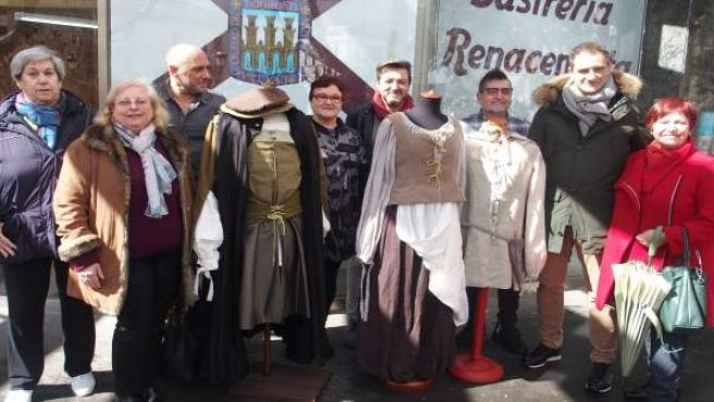 La Concha del Espolón alberga ya la Sastrería Renacentista que elabora los traje