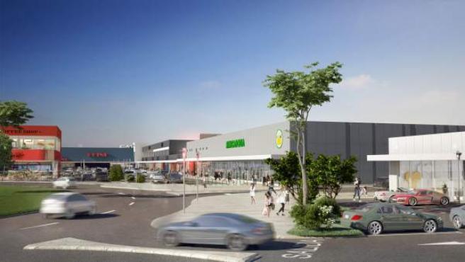 En abril comienzan las obras del nuevo parque comercial de Maliaño, que moviliza