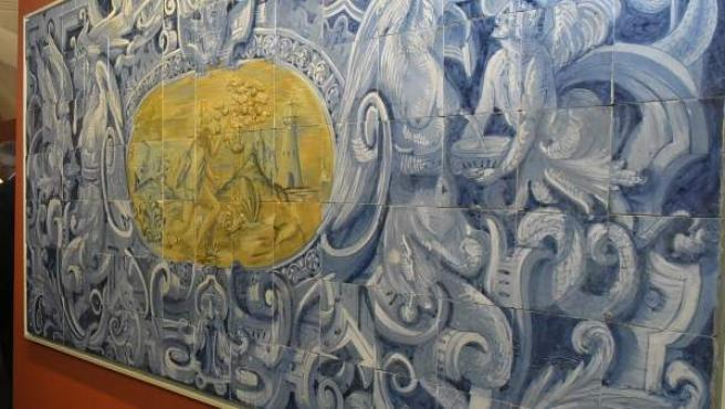 Pieza de exposición aTempora en Talavera