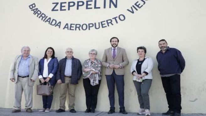 """Moraga avisa de casos de """"ocupación ilegal"""" en el barrio de Aeropuerto Viejo y reclama medidas"""