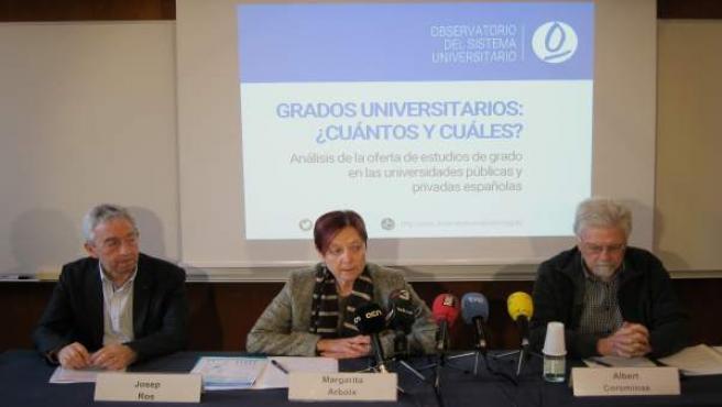 Crece un 13% la oferta de grados en las universidades españolas en una década se