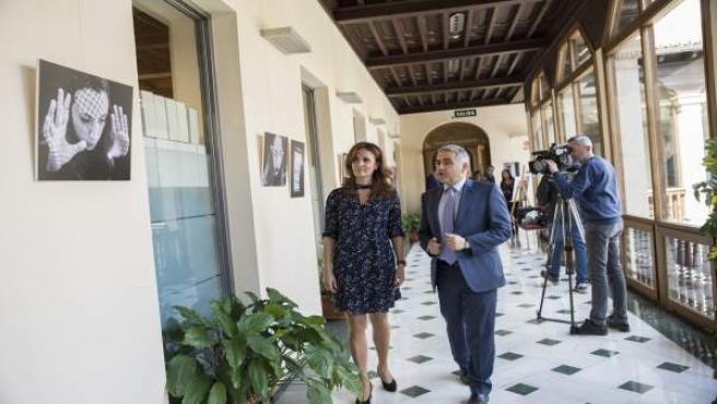 Granada.- Una exposición rechaza la violencia de género a través de mujeres que