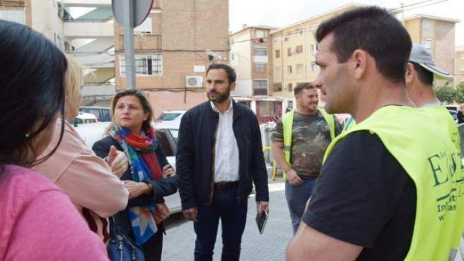 Málaga.- PSOE critica la 'clamorosa falta de seguimiento' de las obras municipal