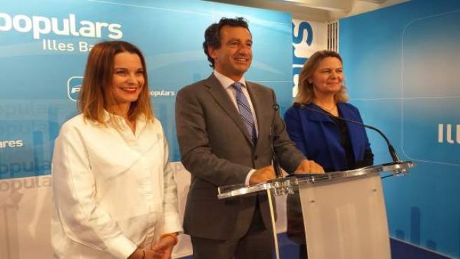 28A.- Prohens Será La Candidata Del PP Balear Al Congreso Y Salom Al Senado