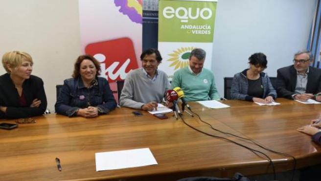 Granada.- 26M.- IU y Equo pactan una candidatura conjunta a las municipales en M