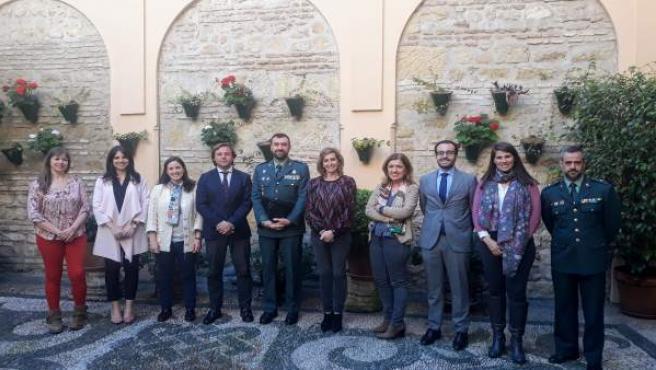 Córdoba.- La Junta y la Guardia Civil apuestan por una colaboración 'leal y flui