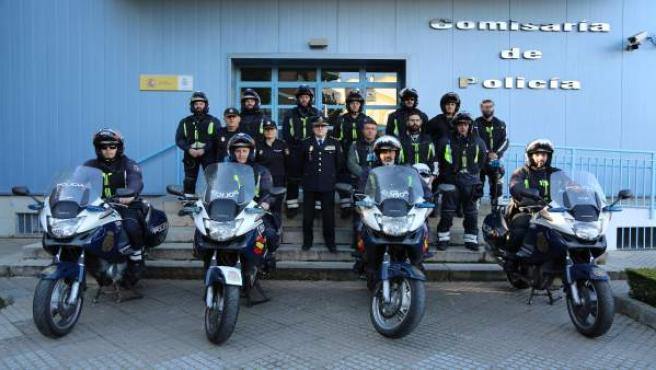 Córdoba.- La Policía Nacional realiza en Córdoba un curso sobre manejo de motoci