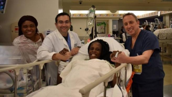 Thelma Chiaka ha dado a luz a sextillizos en un hospital de Houston, Texas (Estados Unidos)