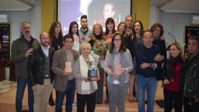 Jaén.- El PSOE entrega su premio 'Las 13 rosas' a una histórica militante de Rus