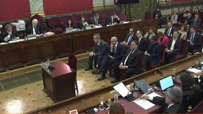 Foto del juicio del procès.