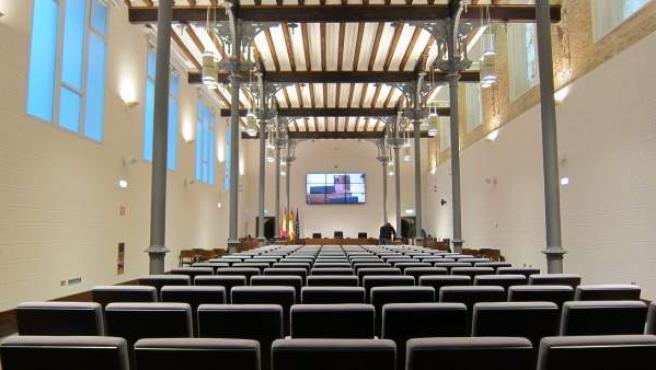 Salón de plenos de la DPZ