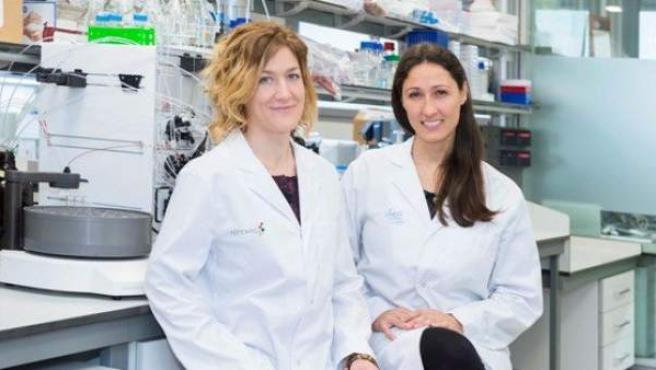 Equipo de científicos que han producido Omomyc.