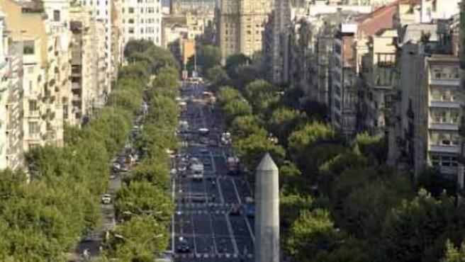 Es la segunda calle del lujo en España, tras Serrano en Madrid.
