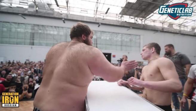 Una ciudad siberiana ha acogido el primer concurso de bofetadas del mundo.