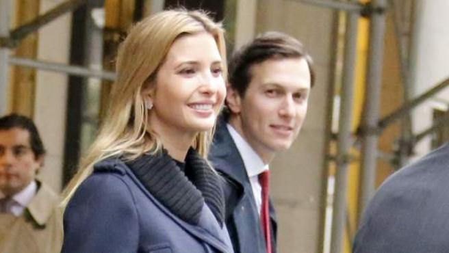 Ivanka Trump y Jared Kushner, en Nueva York.