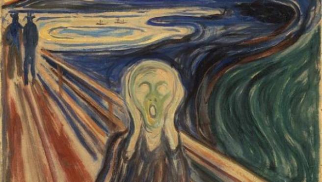 El Grito de Edvard Munch.