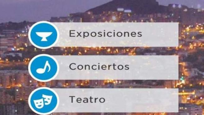 Una aplicación móvil permitirá consultar la programación cultural de Santa Cruz