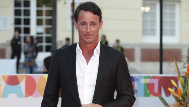 Álvaro Muñoz Escassi, el pasado 15 de marzo en el Festival de Cine de Málaga.