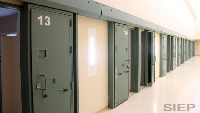 El interior de una cárcel en una imagen de archivo.