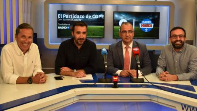 Paco González, Juanma Castaño, Juan Ignacio Gallardo y Edu García.