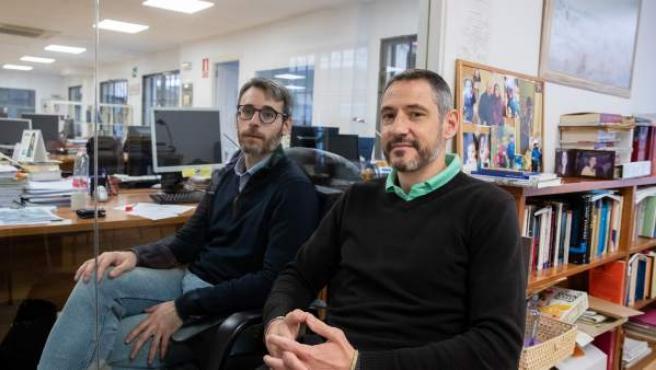 José Pablo Ferrándiz (derecha) y Francisco Camas (izquierda).
