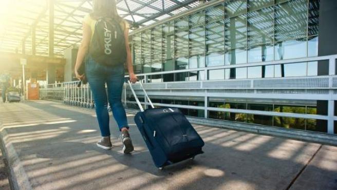 Maleta, viaje, viajar, vuelo