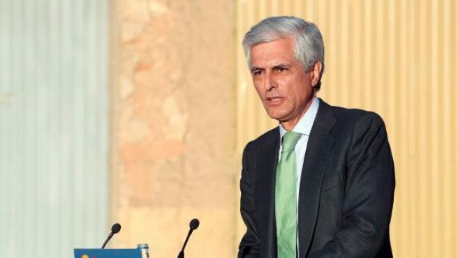 El candidato número dos del PP al Congreso por Madrid, Adolfo Suárez Illana.