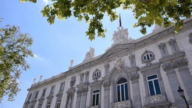 Fachada del Tribunal Supremo español.