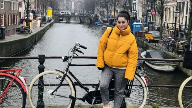 Davinia Motilla, una de las trabajadoras españolas en Holanda.