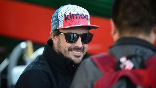 El piloto Fernando Alonso.