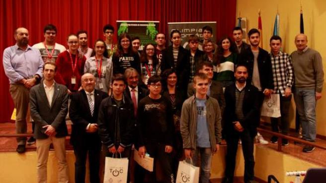 El IES Pando de Oviedo triunfa en la VIII Olimpiada de Ingeniería Informática