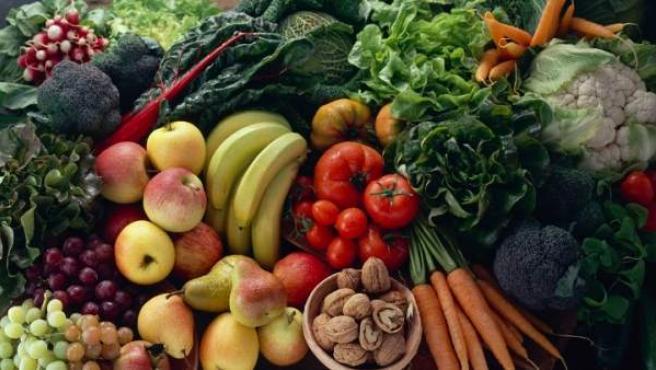 Frutas y verduras de temporada.