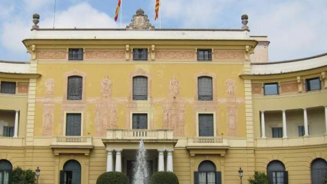 Palacio de Pedralbes.