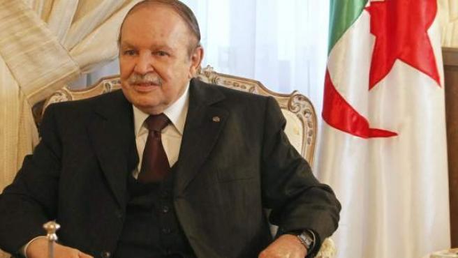 El presidente de Argelia, Abdelaziz Buteflika.