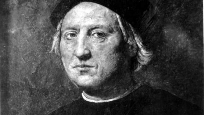 Retrato de Cristóbal Colón atribuido a Rodolfo Ghirlandaia.
