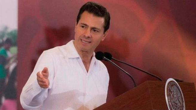 El entonces presidente mexicano Enrique Peña Nieto, durante un acto protocolario en Acapulco Guerrero, México, en una imagen de archivo.