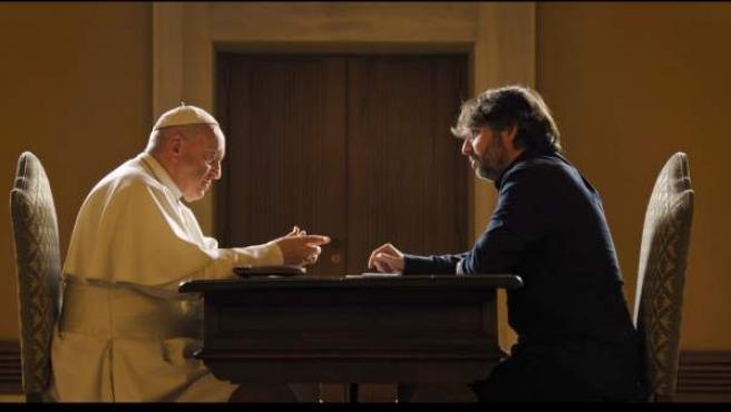 El papa Francisco, entrevistado por Jordi Évole en 'Salvados'.