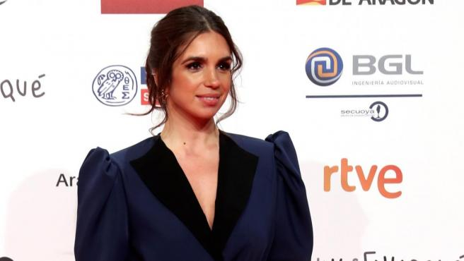 La actriz Elena Furiase a su llegada a la gala de entrega de la 24 Edición de los premios Forqué.