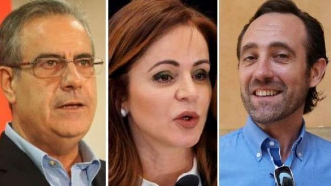Los nuevos fichajes de Ciudadanos: Silvia Clemente, José Ramón Bauzá y Celestino Corbacho.