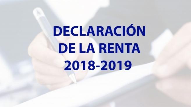 Información de la Declaración de la Renta.