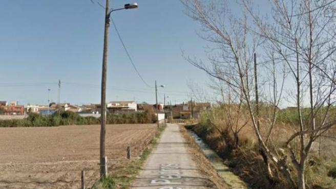 Imagen de la pedanía de La Punta, en Valencia.