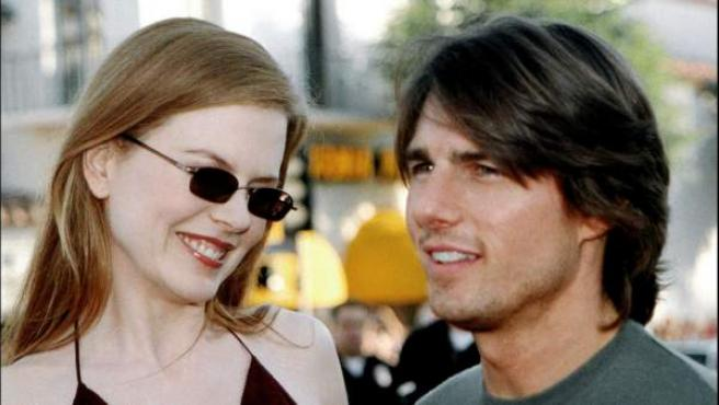 Foto de archivo de Nicole Kidman y Tom Cruise.