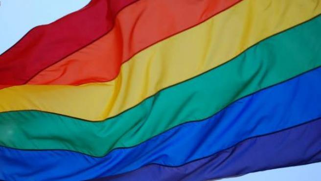 La bandera gay.