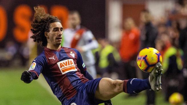 Marc Cucurella, jugador del Eibar.