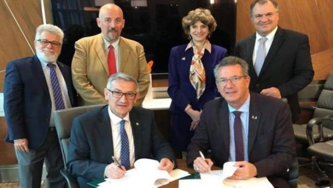 La Universidad de Oviedo firma acuerdo bilateral de colaboración con la de Miami